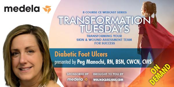 Diabetic Foot Ulcers - On-Demand